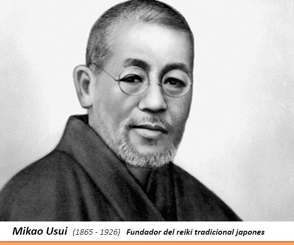 Mikao Usui - Fundador del Reiki tradicional japones