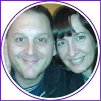 Daniel Apelham y Claudia Petrone