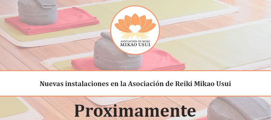 Nuevas instalaciones en la asociación de reiki mikao usui